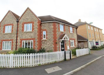 Thumbnail 3 bedroom semi-detached house to rent in Acer Way, Red Lodge, Bury St. Edmunds