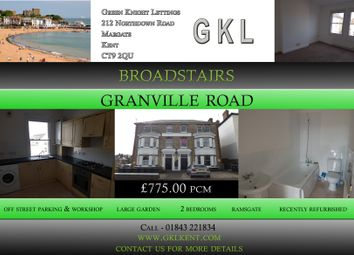 Thumbnail 3 bedroom flat to rent in Granville Road, Broadstairs