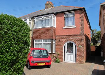 Thumbnail 3 bed semi-detached house to rent in Elmore Avenue, Lee-On-The-Solent