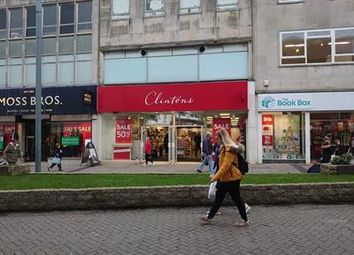 Retail premises to let in 12, New George Street, Plymouth PL1