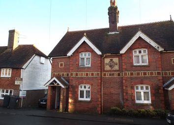 Thumbnail 2 bedroom semi-detached house to rent in South Street, Rotherfield, Crowborough