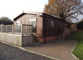 Thumbnail 3 bed mobile/park home for sale in Weston Wood Lodges Residential, Bridge Lane, Weston-On-Trent, Derby