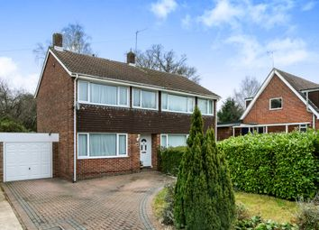 Thumbnail 3 bed semi-detached house for sale in Linden Walk, North Baddesley, Southampton