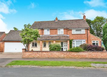 Thumbnail Detached house for sale in Drayton Grove, Drayton, Norwich