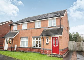 Thumbnail 3 bed semi-detached house for sale in Foxes Rake, Cannock
