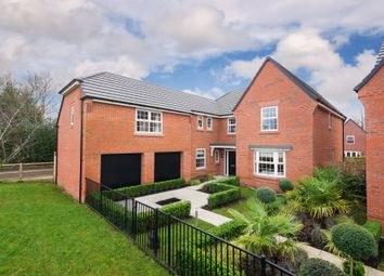 "Thumbnail 5 bedroom detached house for sale in ""Arbury"" at Adlington Road, Wilmslow"