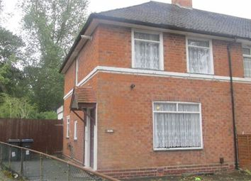 Thumbnail 3 bedroom end terrace house to rent in Alwold Road, Quinton, Birmingham