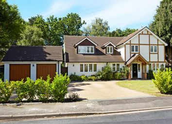 Thumbnail 5 bed detached house for sale in Oaklands Drive, Ascot