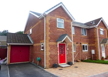 Thumbnail 3 bed semi-detached house for sale in Drumfields, Cadoxton, Neath