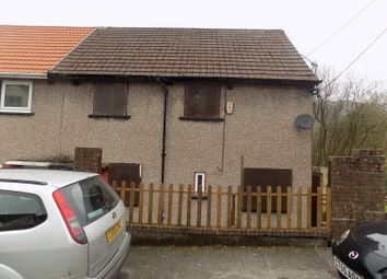 Thumbnail 3 bedroom semi-detached house for sale in Castleton Avenue, Treherbert, Treorchy, Rhondda, Cynon, Taff.
