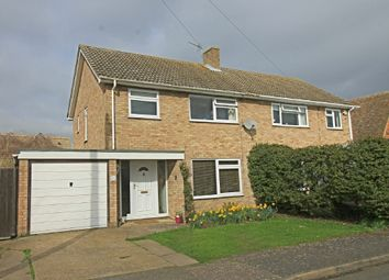 Thumbnail 3 bed semi-detached house for sale in York Close, Godmanchester