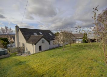 Thumbnail 4 bed detached house for sale in Cannich, Rhynie Road, Fearn, Nr Tain