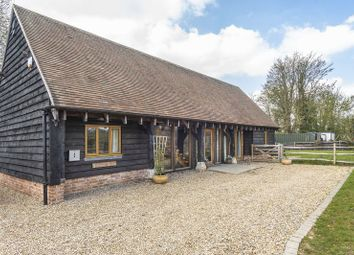 Thumbnail 4 bed barn conversion for sale in Church Lane, Botley, Southampton