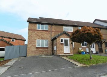Thumbnail 3 bed end terrace house for sale in Badgers Mead, Bridgend