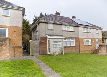 Thumbnail 3 bed semi-detached house for sale in Ffordd Ganol, Bridgend