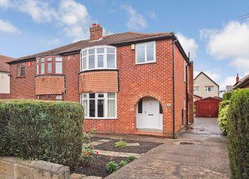 Thumbnail 3 bed semi-detached house for sale in Park Avenue, Crossgates, Leeds