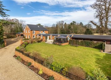 Thumbnail 6 bed equestrian property for sale in Chobham, Woking, Surrey