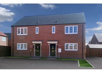 Thumbnail 3 bed semi-detached house for sale in 36, 37, 39, St Michaels Gate, Ravenstone, Leicestershire