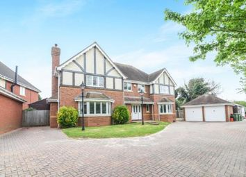Thumbnail 5 bed detached house for sale in Clarks Hill Rise, Evesham, Worcestershire