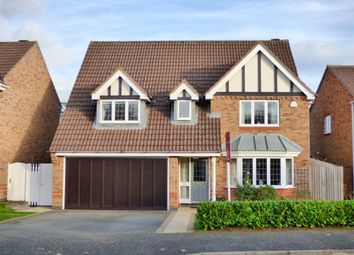 Thumbnail 4 bed detached house for sale in Alsthorpe Road, Oakham