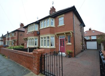 Thumbnail 3 bed semi-detached house for sale in Primrose Avenue, Blackpool, Lancashire