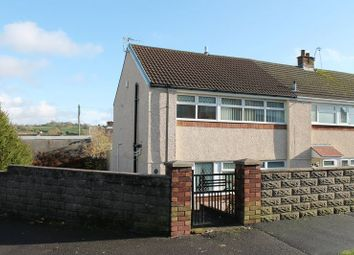 Thumbnail 3 bed end terrace house to rent in Moorland Crescent, Beddau