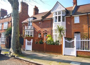 Woodstock Road, Bedford Park, Chiswick, London W4. 3 bed terraced house for sale