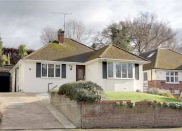 Thumbnail 3 bed detached bungalow for sale in Rowtown, Rowtown, Surrey