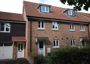 Thumbnail 3 bed terraced house for sale in Orchard Close, Burgess Hill, West Sussex