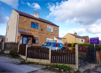 Thumbnail 2 bed semi-detached house for sale in Sheffield Road Conisbrough, Doncaster