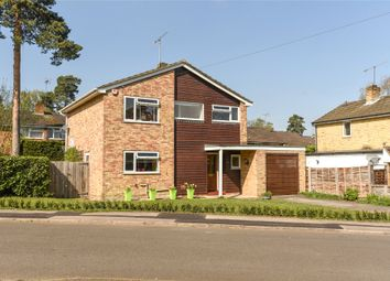 Thumbnail 3 bed detached house for sale in Lyneham Road, Crowthorne, Berkshire