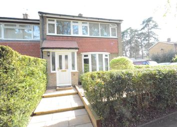 Thumbnail 3 bed end terrace house for sale in Wellington Drive, Bracknell, Berkshire