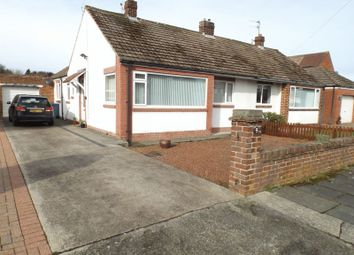 Thumbnail 2 bed semi-detached bungalow for sale in The Chip, Loansdean, Morpeth