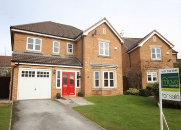 Thumbnail 4 bed detached house for sale in Stubbs Lane, Prenton, Wirral