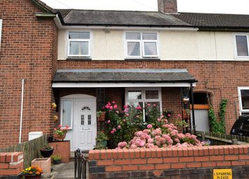 Thumbnail 3 bed terraced house for sale in Tomlin Road, Northfields, Leicester