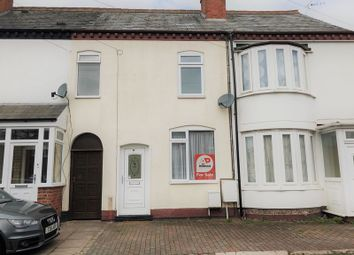 Thumbnail 2 bed terraced house for sale in Brook Road, Bromsgrove