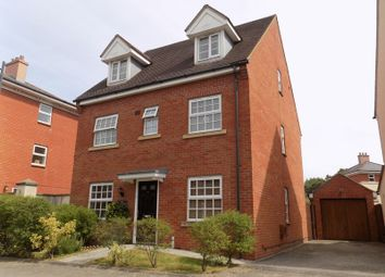 Thumbnail 5 bed detached house for sale in Gaveller Road, Swindon