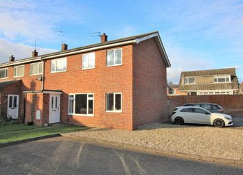 Thumbnail 3 bed semi-detached house for sale in Fairways, Hellesdon, Norwich