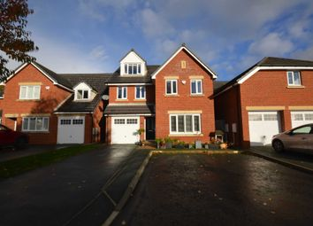 Thumbnail 5 bed detached house for sale in Edward Manton Close, Higher Bebington, Wirral