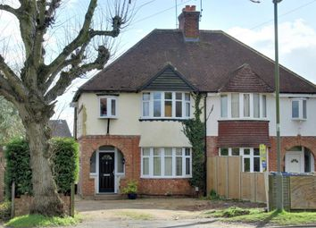 Thumbnail 3 bedroom semi-detached house for sale in Weybourne Road, Farnham