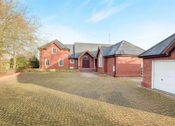 Thumbnail 4 bed detached house for sale in Burley Hill, Allestree, Derby