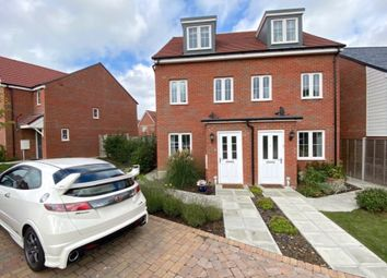 Thumbnail 3 bed town house for sale in White Clover Close, Pevensey, East Sussex