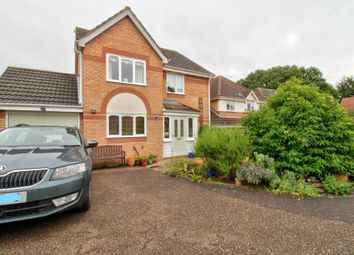 Thumbnail 4 bed detached house for sale in Kentwell Close, Rushmere St. Andrew, Ipswich