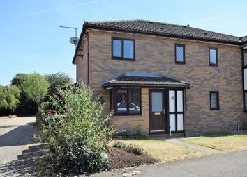 Thumbnail 1 bed terraced house to rent in Frenchmans Close, Toddington, Dunstable
