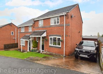 Thumbnail 3 bed semi-detached house for sale in Minffordd Fields, Gwernymynydd, Mold