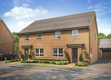 "Thumbnail 4 bed detached house for sale in ""Chester"" at The Ridge, London Road, Hampton Vale, Peterborough"