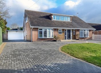 Thumbnail 5 bed bungalow for sale in Hurst Road, Hinckley, Leicestershire