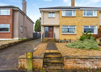 Thumbnail 3 bed semi-detached house for sale in Rederech Crescent, Hamilton, South Lanarkshire