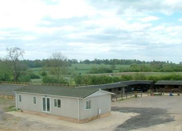 Thumbnail Equestrian property for sale in Turweston, Brackley, Buckinghamshire.