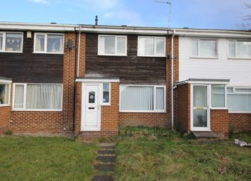 Thumbnail 3 bed terraced house for sale in Chatton Close, Chester Le Street